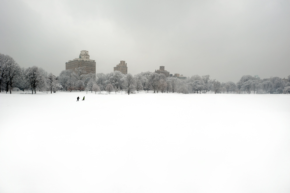 Prospect park snow