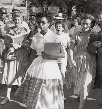 Little-rock-desegregation1