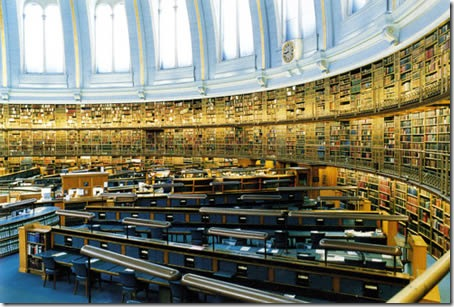 old british reading room