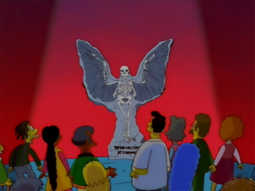Simpsons angel