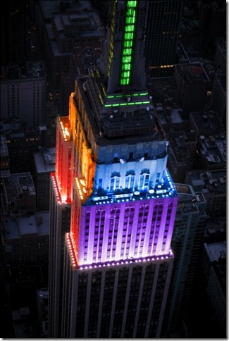 empire state rainbow